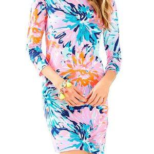 Lilly Pulitzer Marlowe Dress Multi Off Tropic - S